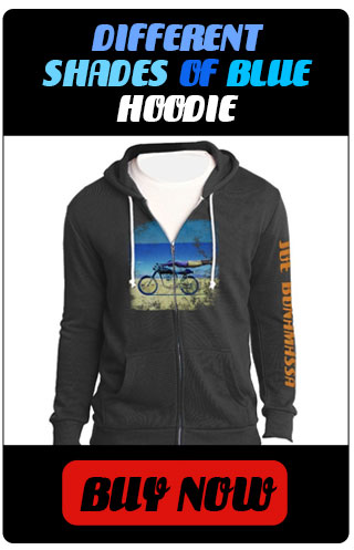 Different Shades of Blue Hoodie