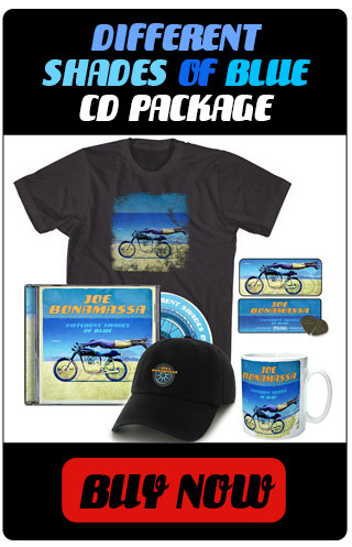 Different Shades of Blue CD Package