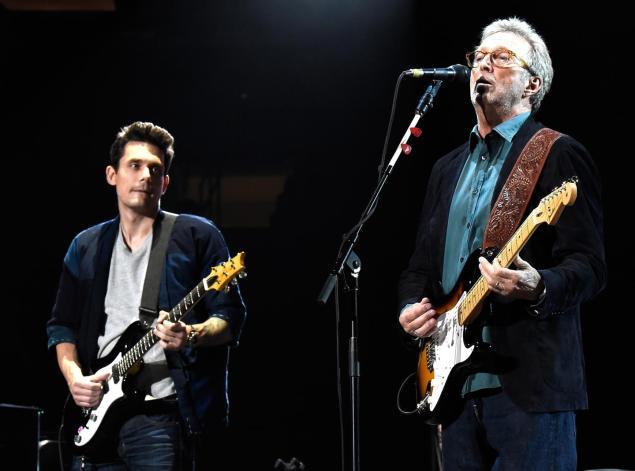 Eric Clapton S 70th Birthday Celebration In Nyc