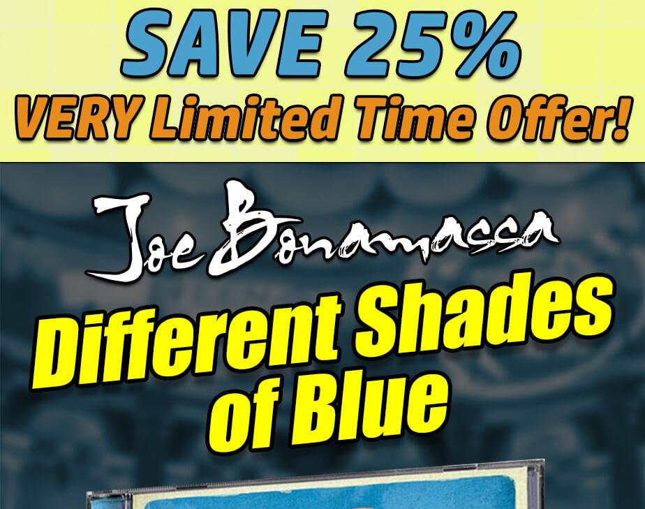 Joe bonamassa monday night blues slash sweet child o for Different shades of blue