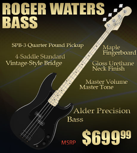 Roger Waters Signature Win This Roger Waters Bass