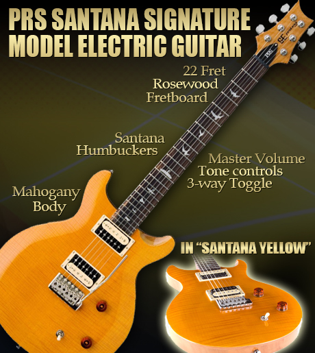 Win this Santana Signature Guitar Giveaway Now by Keeping