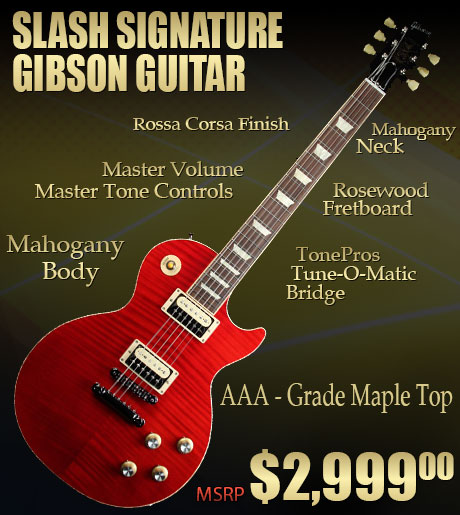 Win this Slash Signature Guitar Giveaway Now by Keeping the