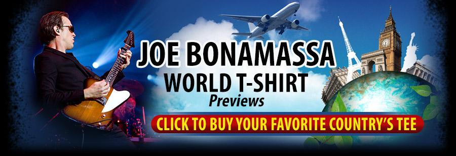 Bonamassa World T-Shirt