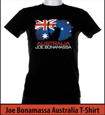 Bonamassa Australia T-Shirt