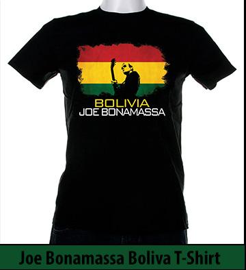 Bonamassa Bolivia world tee