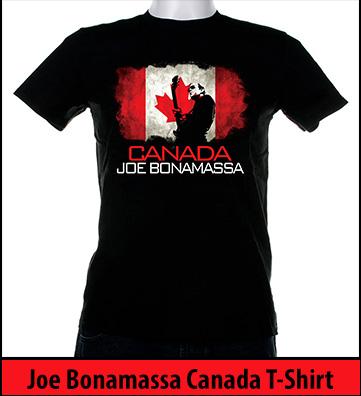 Bonamassa Canada world tee