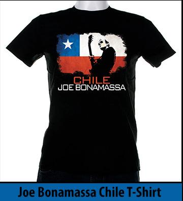 Bonamassa Chile world tee