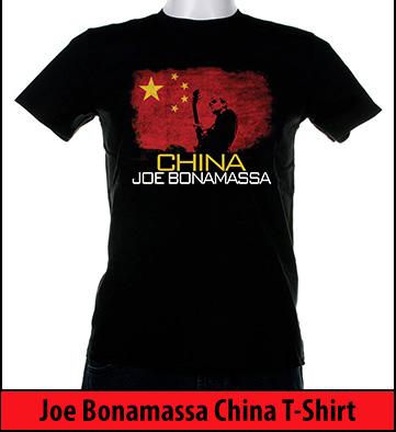 Bonamassa China world tee