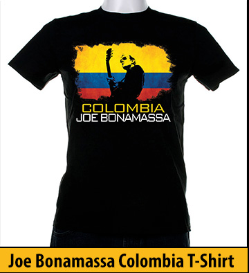 Bonamassa Columbia world tee