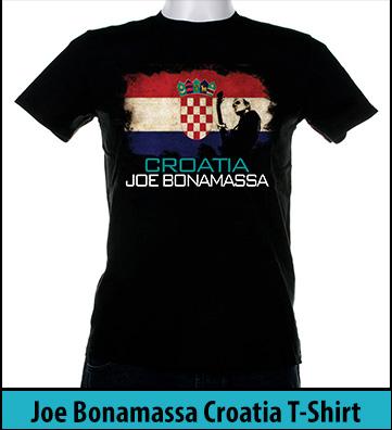 Bonamassa Croatia world tee