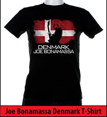 Bonamassa Denmark world tee