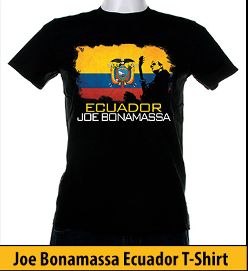 Bonamassa Ecuador world tee