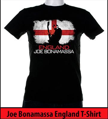 Bonamassa England world tee