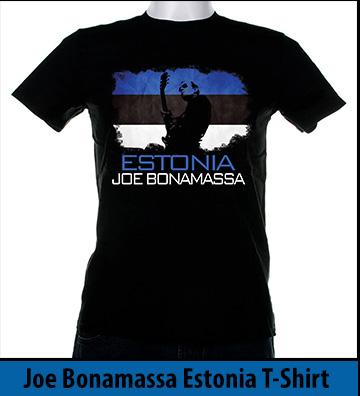 Bonamassa Estonia world tee