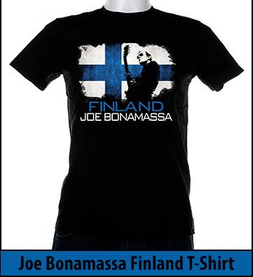 Bonamassa Finland world tee