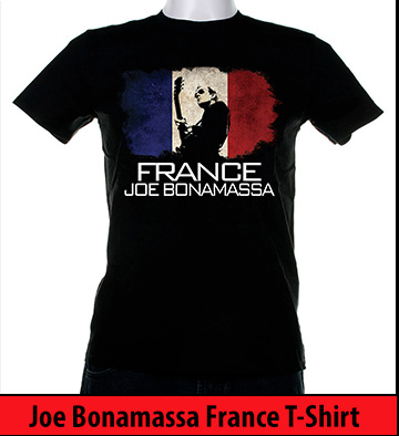Bonamassa France world tee