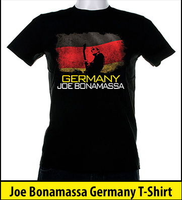 Bonamassa Germany world tee