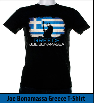 Bonamassa Greece world tee