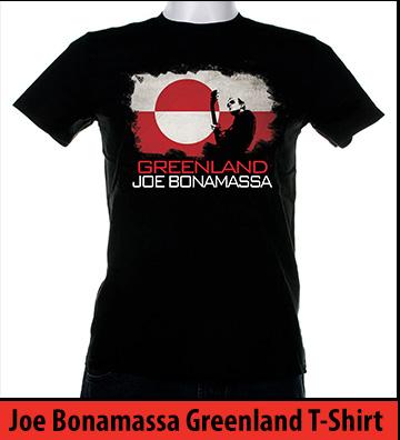 Bonamassa Greenland world tee