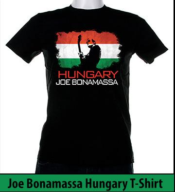 Bonamassa Hungary world tee