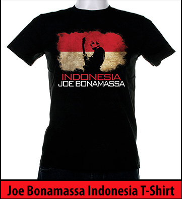 Bonamassa Indonesia world tee