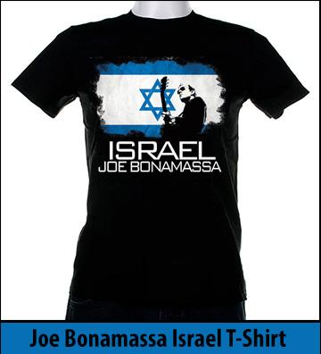 Bonamassa Israel world tee