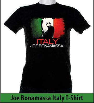 Bonamassa Italy world tee