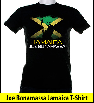 Bonamassa Jamaica world tee