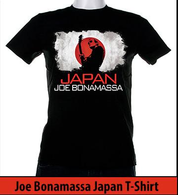 Bonamassa Japan world tee