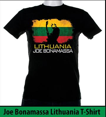 Bonamassa Lithuania world tee