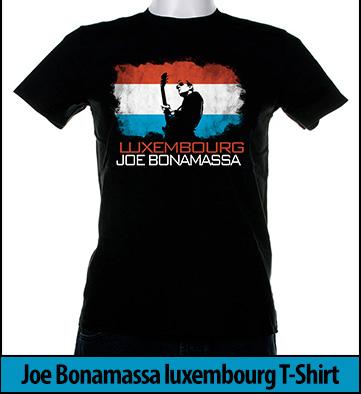 Bonamassa luxembourg world tee