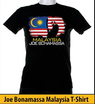 Bonamassa Malaysia world tee