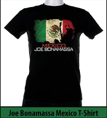 Bonamassa Mexico world tee