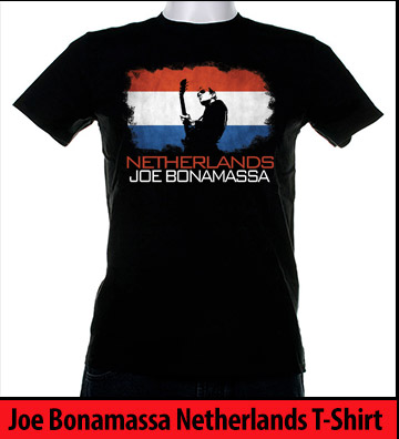 Bonamassa Netherlands world tee