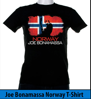 Bonamassa Norway world tee