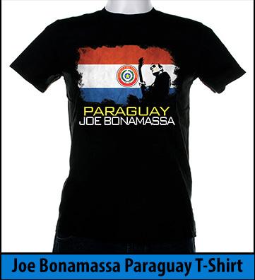 Bonamassa Paraguay world tee