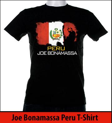 Bonamassa Peru world tee
