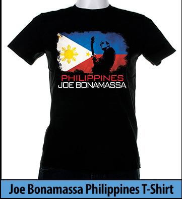 Bonamassa Philippines world tee