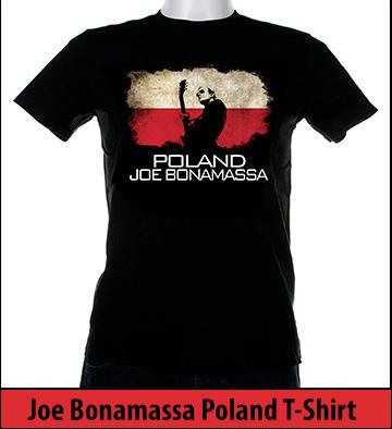 Bonamassa Poland world tee