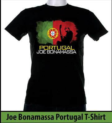 Bonamassa Portugal world tee