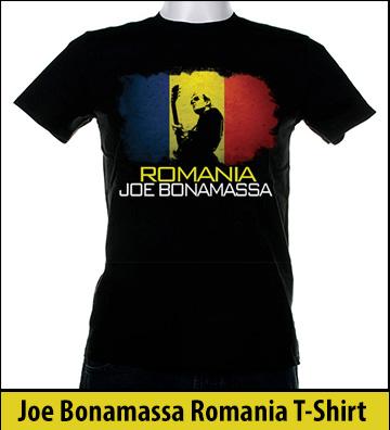 Bonamassa Romania world tee