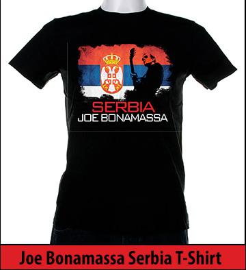 Bonamassa Serbia world tee
