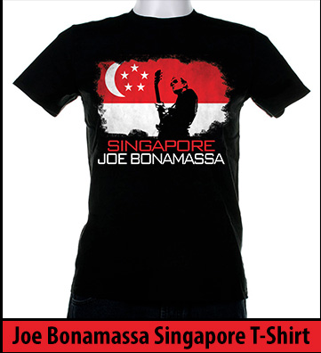 Bonamassa Singapore world tee