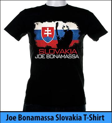 Bonamassa Slovakia world tee