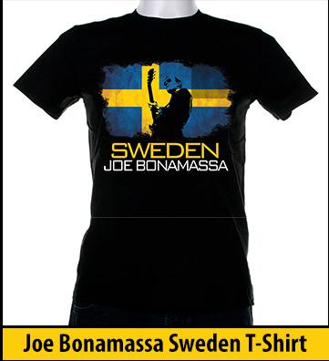 Bonamassa Sweden world tee