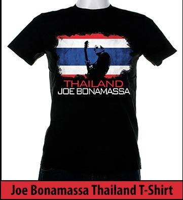 Bonamassa Tailand world tee