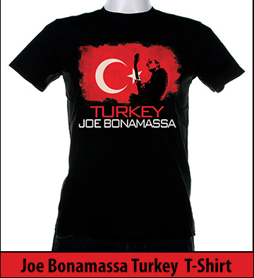 Bonamassa Turkey world tee