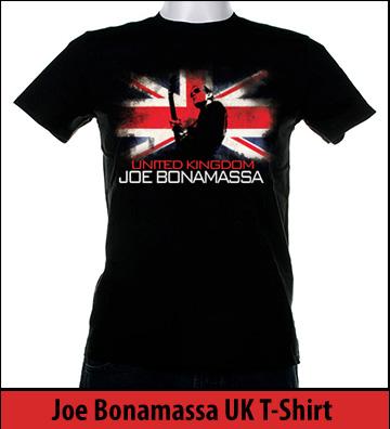 Bonamassa UK world tee