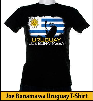 Bonamassa Uruguay world tee